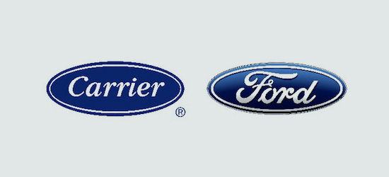 carrier - ford