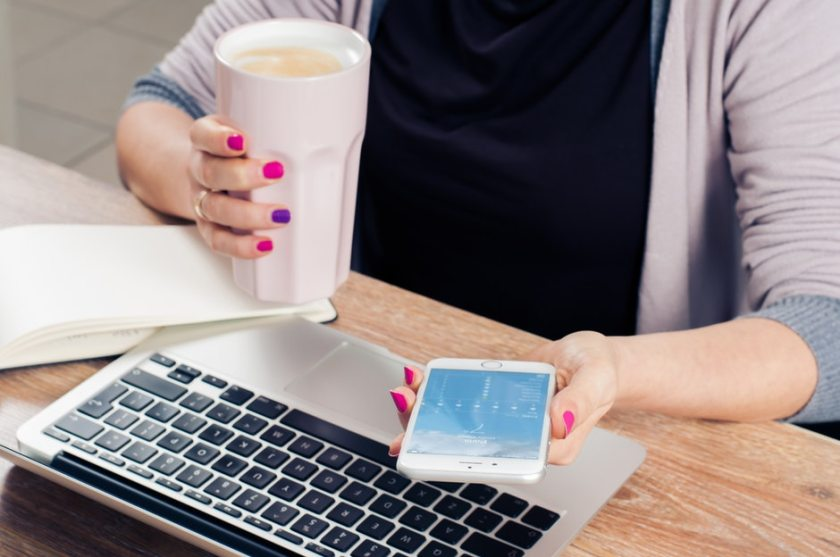 app, coffee, computer